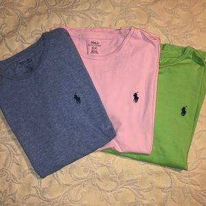 3️⃣ Men's Polo Ralph Lauren short sleeve shirts S